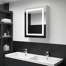 Armario de cuarto de bano con espejo y LED