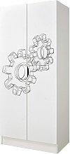 Armario de dos puertas - Máquina
