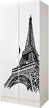 Armario de dos puertas - Torre Eiffel