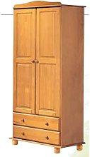Armario dos puertas madera pino color miel