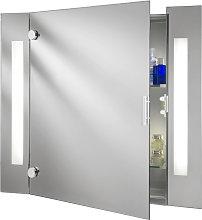 Armario moderno con espejo Silva con iluminación