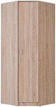 Armario rinconero OLESSIA - 1 puerta - L.80 cm -