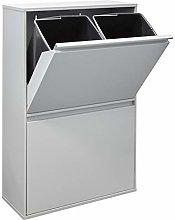 Arregui Basic CR602-B Cubo de Basura y Reciclaje