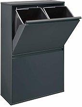 Arregui Basic CR604-B Cubo de Basura y Reciclaje