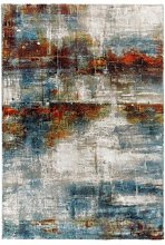 Arty 19. Alfombra Moderna con dibujo abstracto.