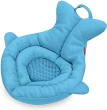 Asiento blando de bebé para baño Moby azul -