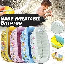 Asiento de baño inflable para bebés, ayudante de