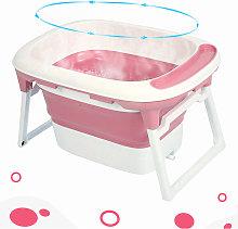 Asiento de baño y tapón de drenaje (rosa y