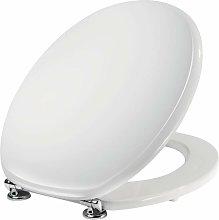 Asiento de inodoro blanco para jarrones Universal