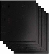 ASKLKD Grill Mat Conjunto de 6 - Parrilla Mats