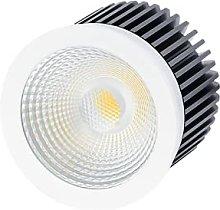 ASLED SKA9CTC - Foco de techo, color blanco o gris