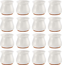 Asupermall - 16 piezas de fundas para patas de