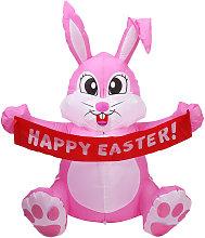 Asupermall - 4.92ft LED del conejo de Pascua que