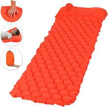 Asupermall - Acampar colchoneta inflable con bomba
