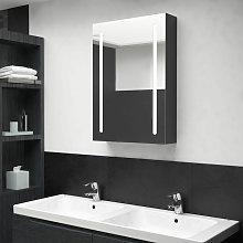 Asupermall - Armario de bano con espejo y LED