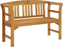 Asupermall - Banco de jardin madera maciza de