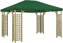 Asupermall - Cenador verde 4x3 m