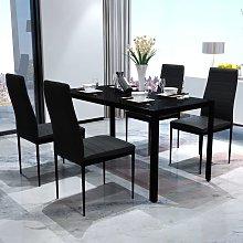 Asupermall - Conjunto de mesa y sillas de comedor