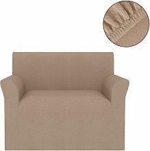Asupermall - Funda elastica para sofa beige pique