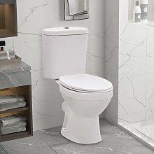 Asupermall - Inodoro con cisterna y asiento de