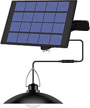 Asupermall - Luz colgante solar para exteriores,