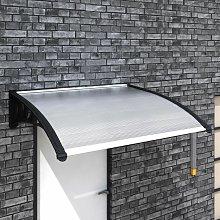 Asupermall - Marquesina para puerta 150x100 cm
