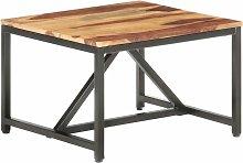 Asupermall - Mesa auxiliar de madera maciza de