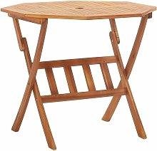 Asupermall - Mesa plegable de jardin de madera