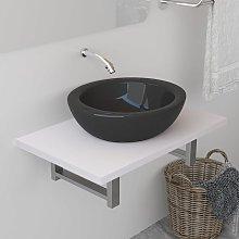 Asupermall - Mueble de cuarto de bano blanco