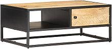 Asupermall - Mueble de TV puerta tallada madera de