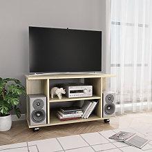 Asupermall - Mueble para TV con ruedas aglomerado
