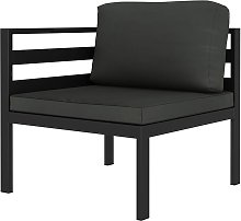 Asupermall - Sofa seccional de esquina con cojines