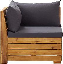 Asupermall - Sofa seccional esquina 1 pza con