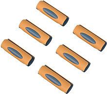 Asupermall - Sujetadores de pinzas para sabanas de