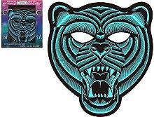Atosa 59425 Mascara de Tigre con Iluminación Led