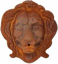 aubaho León león Cabeza decoración de Hierro