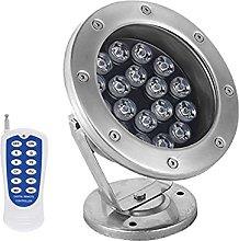 AWSAD 18W RGB Impermeable IP68 12 / 24V LED Punto