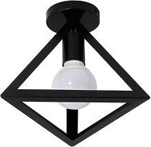 Axhup - Lámpara de techo de metal triángulo