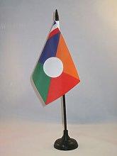 AZ FLAG Bandera de Mesa de la REUNIÓN Alternativo
