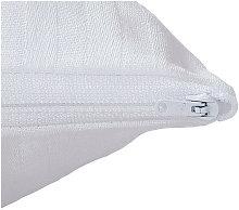 Aznar - Funda de almohada raso labrado | 75cm