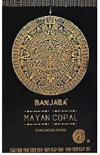 Azteca Incienso Banjara - 12 Packs de 15 gr (Mayan