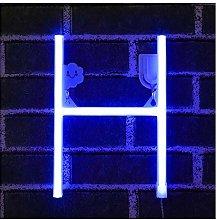 Azul Letreros de neón Luz nocturna Luces LED de