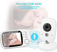 Baby Monitor con cámara - Video inalámbrico Baby