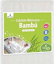 Babysom - Colchón Minicuna bebé - 90 x 40 cm -
