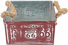 Baihua - Maceta de hierro y acero para decoración