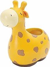 Baihua - Maceta de resina con diseño de jirafa