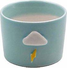 Baihua Macetas de cerámica coloridas con drenaje