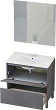Baikal Conjunto Mueble de Baño con Espejo y