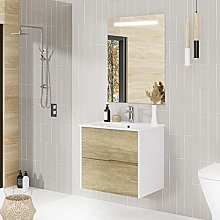 Baikal Conjunto Mueble de baño Gavin, 60cm, 2