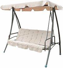 Balancín-cama de acero/poliéster jardín